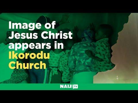 Image of Jesus Christ appears in Ikorodu Church