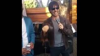 Not Tom Cruise KILLS it at a Birthday Party in Venice, CA