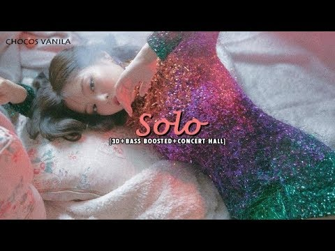 [3D+BASS BOOSTED+CONCERT HALL] JENNIE - SOLO