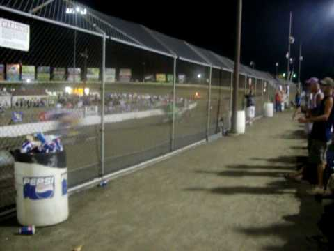 World of Outlaws 4 wide salute-I-55 raceway