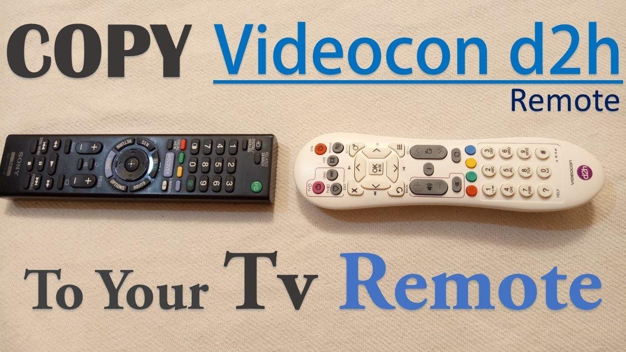 Convert Tv Remote To Set Up Box Remote Videocon D2h In Hindi