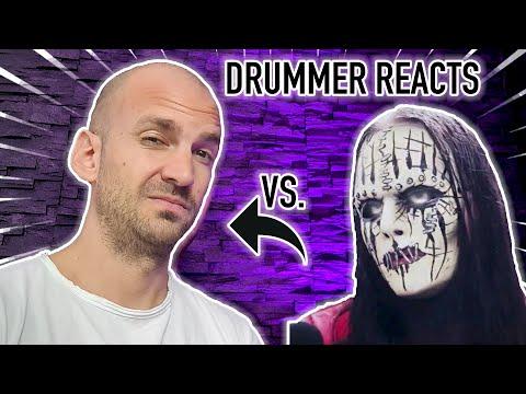 Drum Teacher Reacts: Joey Jordison Technique Analysis