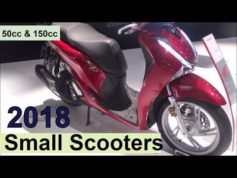 The 2018 Small Scooters (50cc up to 150cc) - YouTube