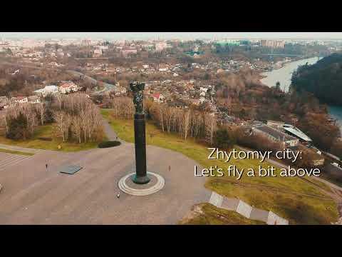 Let's explore Zhytomyr city, Ukraine.