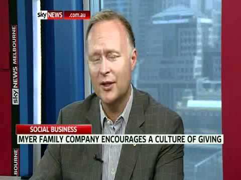 Social Business: Rupert Meyer - Importance of Transparency in NFP Reporting (May 2011)