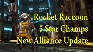 Marvel Contest of Champions - 5 Star? - Rocket Raccoon - New Alliance Update(, 2015-03-01T01:32:34.000Z)