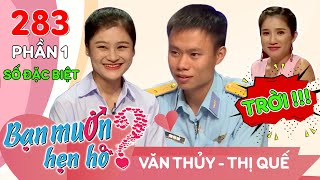 Quyen Linh finds girlfriend for air force soldiers Van Thuy - Thi Que | BMHH 283 😂