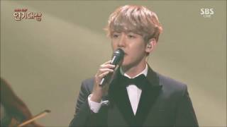 "Gambar cover 161231 BAEKHYUN EXO ""For You"" OST Moon Lovers: Scalet Heart Drama Awards 720p"