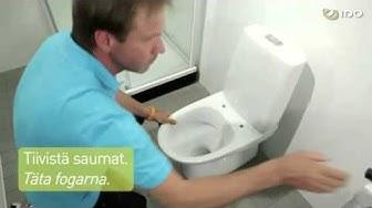 Ido seven wc istuimen asennus