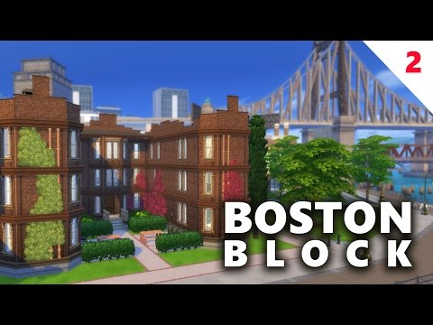 The Sims 4 House Building  | BOSTON BLOCK APARTMENTS (Part 2)