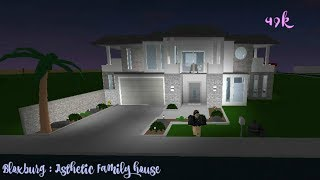Roblox : Bloxburg ~ House tour - Aesthetic Family House