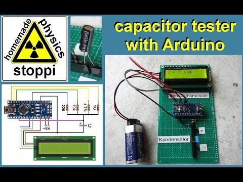 arduino capacitance meter - Myhiton