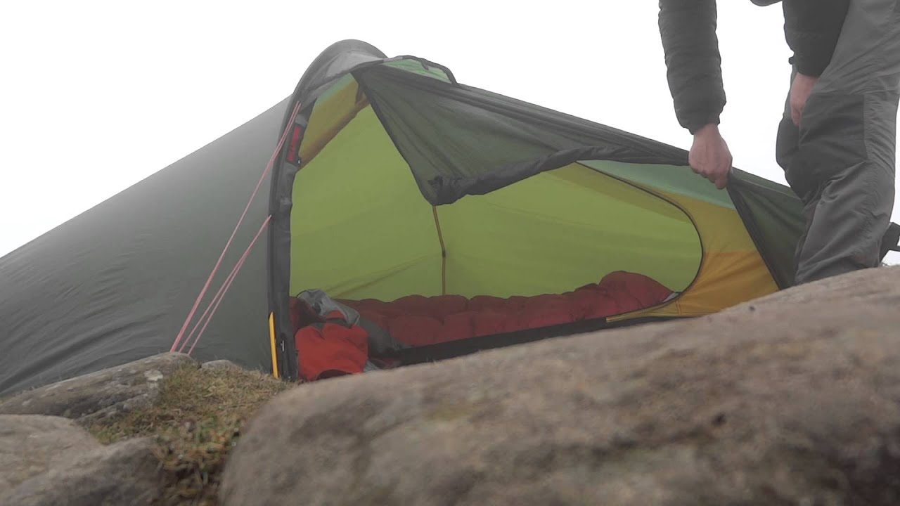 sc 1 st  YouTube & How to do use the outer door of a Hilleberg Akto Tent. - YouTube