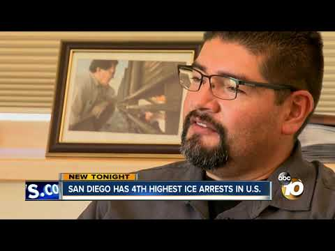 MORNING NEWS - San Diego Ranks 4th In ICE Arrests