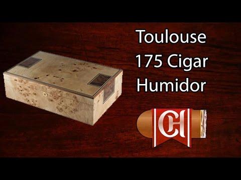 Toulouse - 175 Cigar Humidor