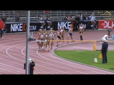 Deutsche Jugend-Meisterschaft Ulm 2010 - 1500m women Finale