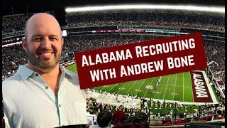 Alabama football recruiting with Andrew bone