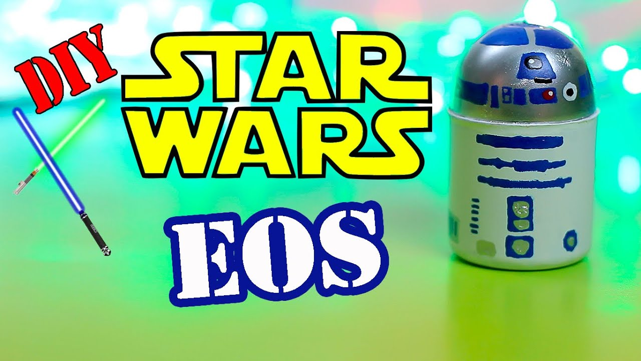 Star Wars Crafts-DIY Star Wars EOS Lip balm -Make Your Own EOS