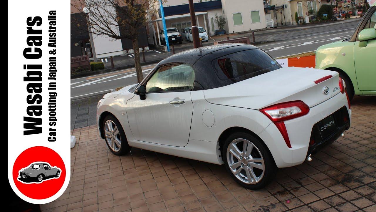 bonus video 2014 daihatsu copen robe turbocharged kei car youtube