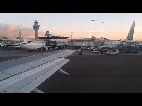 ✈ ArkeFly | Take Off and Taxi | Amsterdam Airport Schiphol | 8 August 2013 |