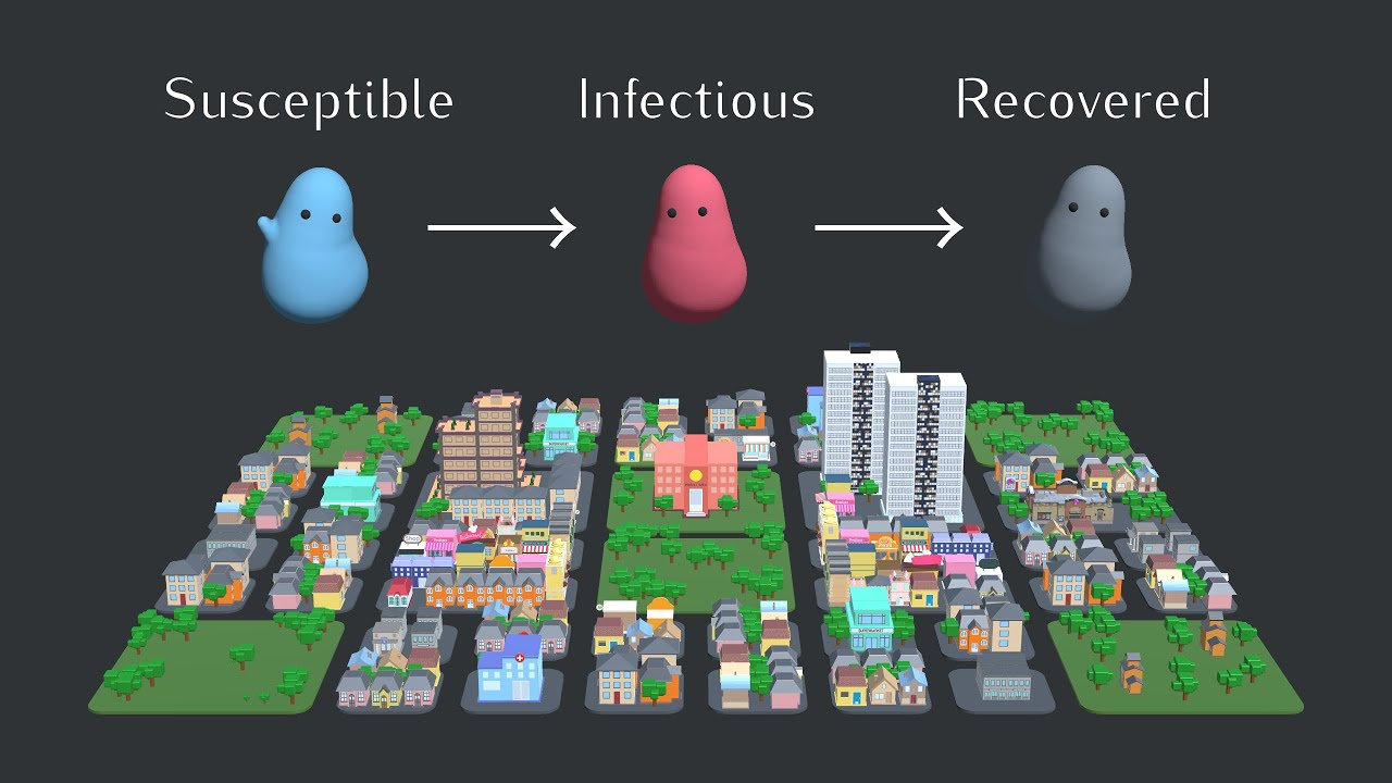 Epidemic, Endemic, and Eradication Simulations
