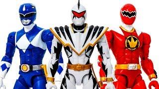 Power Rangers Appeared Defeat Thanos & Venom Rescue Tiny Avengers Toys #Toymarvel