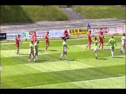 West Wales Raiders vs sheff Hallam Eagles 2015