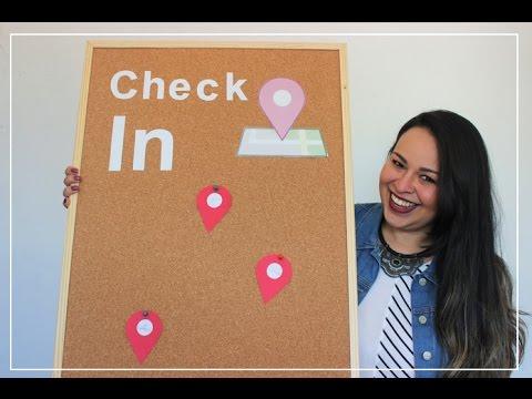 DIY: QUADRO DE CHECK IN DO FACEBOOK / GOOGLE / GOOGLE MAPS