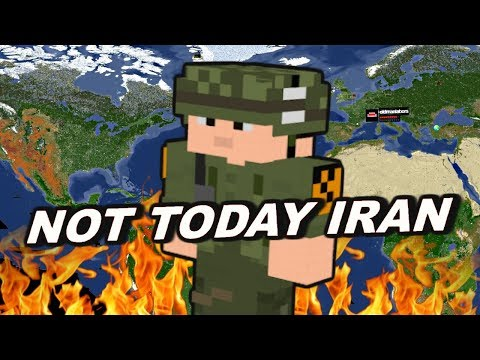 I Put The Minecraft Earth Map On My Server & Started WW3