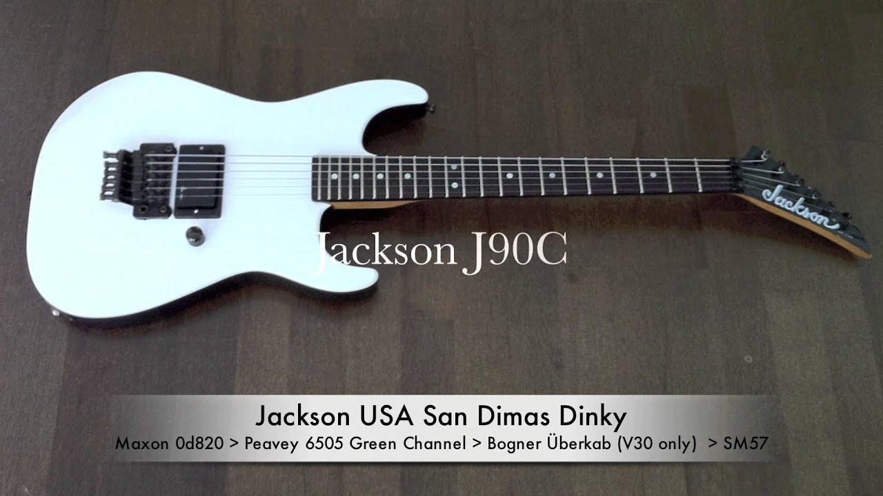 jackson j50bc j80 j90c seymour duncan sh 4 emg81 pickup comparison [ 1280 x 720 Pixel ]
