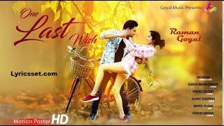 Rabba Pura Mera Ek Arman Krde | Raman Goyal | One Last Wish | Goyal Music | New Punjabi Song 2020