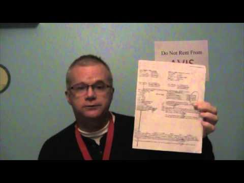 Avis Rental Car's Fraudulent Charges:   BEWARE!!!