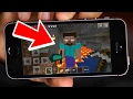 How to Install HEROBRINE in Minecraft Pocket Edition iOS+Android (Addons & Mods)