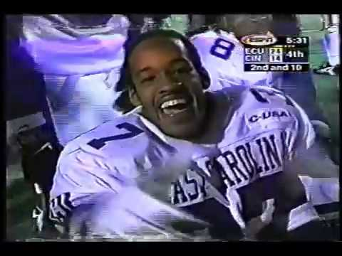 Forrest Foster  (ECU)  East Carolina Football  Highlights (95-99) CB