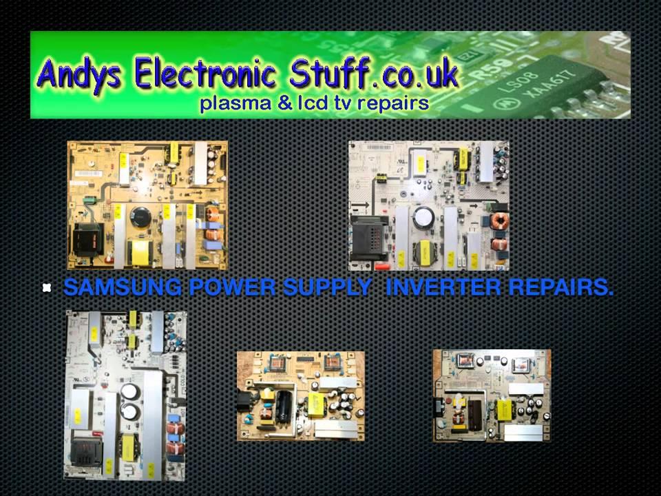 Samsung Lcd Tv Power Supply Repair Service Ip40std Bn44