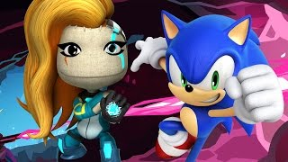Sonic VS Kai - Velocity 2X Costume Showcase - LittleBigPlanet 3 Animation