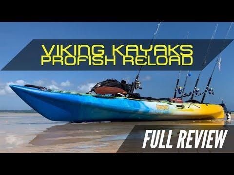Fishing Kayak Review : Viking Kayaks Profish Reload