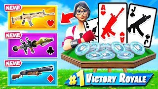 *POKER* WEAPON Chooser in Fortnite!