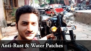 Removing Anti-Rust | Water Patches | Royal Enfield | Bullet 500