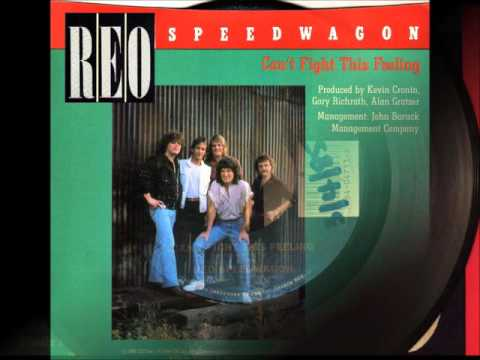 Can't Fight This Feeling , REO Speedwagon , 1984 Vinyl 45RPM