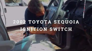 Andrews Lock and Key 2002 Toyota Sequoia Ignition Switch Replacement