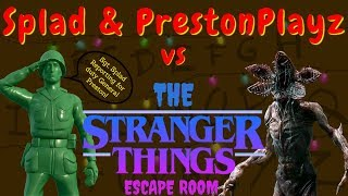 PRESTONPLAYZ & SPLAD vs the STRANGER THINGS ESCAPE ROOM Fortnite Creative USE CODE SPLAD