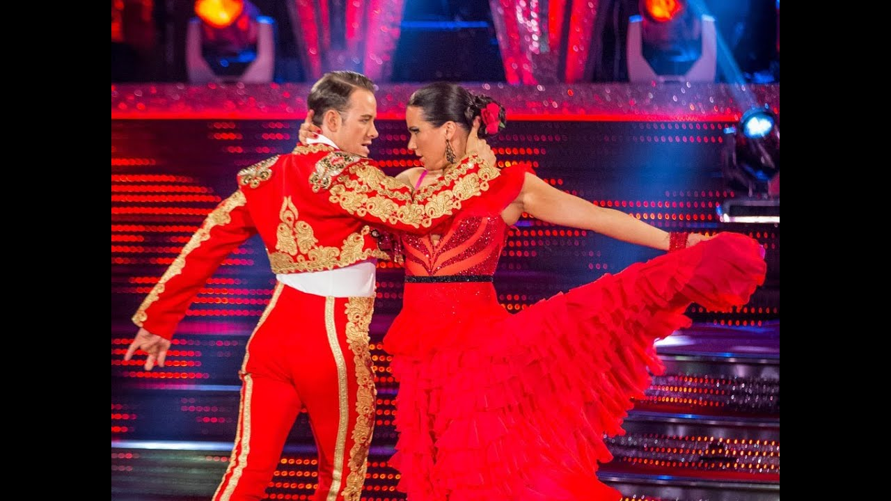 3dfc95b7aa5b Susanna Reid & Kevin dance the Paso Doble to 'Los Toreadors ...