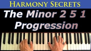 The Minor 2 5 1 Progression - A Jazz Piano Tutorial
