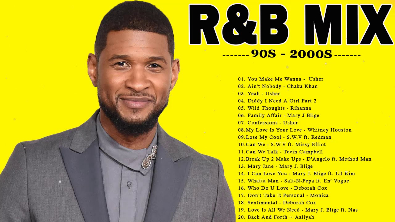BEST R&B PARTY MIX - Usher, Rihanna, Beyonce, Chris Brown , Mary J  Blige