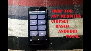 [Without PC]How to install TWRP recovery for MTK devices Part -2 [HINDI] |2018