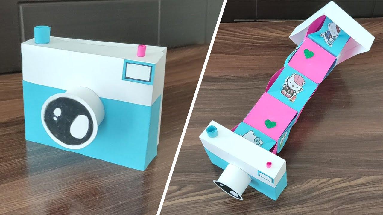 Paper Camera That Opens and Close | Magic Paper Camera Photo Box | Easy Paper Camera | DIY Camera