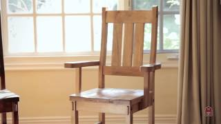 Barn Furniture - Rustic Timber Reclaimed Maple  Chairs