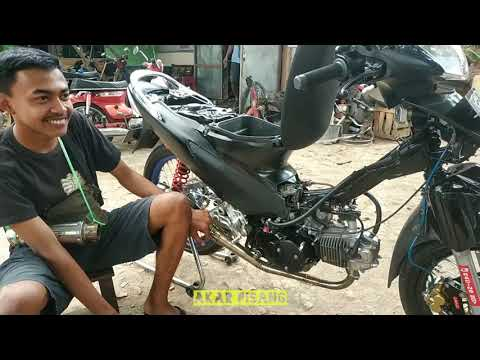 review HONDA SUPRA X 125 BORE UP 150CC PISTON 58 mm SPECK SEMI ROAD RACE BUAT HARIAN ?🔥| HONDA WAVE