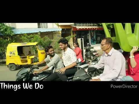 Kanne Adi Gannu Mathiri Cover Song  Best Love Scene 😍  What'sapp Status